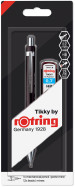 Rotring Tikky Mechanical Pencil - Black Barrel with Leads - 0.70mm