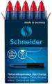 Schneider One Change Roller Cartridge - Red