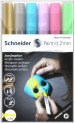 Schneider Paint-It 310 Acrylic Markers - 2mm - Set 2 (Pack of 6)