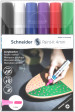 Schneider Paint-It 320 Acrylic Markers - 4mm - Set 1 (Pack of 6)