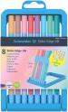 Schneider Slider Edge Ballpoint Pen - Extra Broad - Assorted Pastel Colours (Pack of 8)