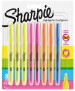 Sharpie Accent Pocket Highlighters - Assorted Colours (Blister of 8)
