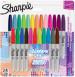 Sharpie Fine Marker Pens - Electric Pop (Pack of 24)