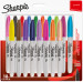 Sharpie Fine Marker Pens - Assorted Colours (Pack of 18)