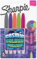 Sharpie Fine Marker Pens - Cosmic Colours (Pack of 5)