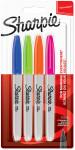 Sharpie Fine Marker Pens - Fun Colours (Pack of 4)
