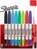 Sharpie Twin Tip Marker Pens - Assorted Colours (Blister of 8)