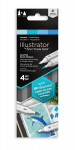 Spectrum Noir Illustrator Markers - Aquatic (Pack Of 4)