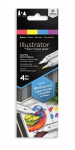 Spectrum Noir Illustrator Markers - Basics (Pack Of 4)