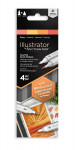Spectrum Noir Illustrator Markers - Fiery (Pack Of 4)