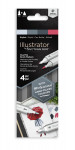 Spectrum Noir Illustrator Markers - Stylish (Pack Of 4)