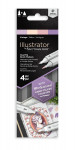 Spectrum Noir Illustrator Markers - Vintage (Pack Of 4)