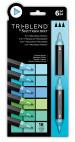 Spectrum Noir TriBlend Markers - Coastal Blends (Pack Of 6)