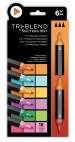 Spectrum Noir TriBlend Markers - Exotic Blends (Pack Of 6)