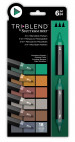 Spectrum Noir TriBlend Markers - Woodland Shades (Pack Of 6)