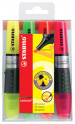 Stabilo Luminator Highlighter Pen - Assorted Colours (Pack of 4)