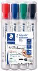 Staedtler Lumocolor Whiteboard Marker - Bullet Tip - Assorted Colours (Pack of 4)