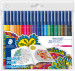 Staedtler Noris Club Fibre Tip Pens - Assorted Colours (Pack of 20)