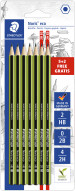 Staedtler Noris Eco Pencils - Assorted Degrees (Blister of 7)