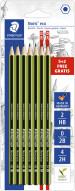 Staedtler Noris Eco Pencils - Assorted Degrees (Blister of 7)
