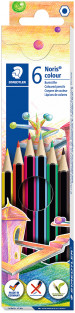 Staedtler Noris Colour Pencils - Assorted Colours (Pack of 6)