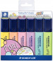 Staedtler Textsurfer Highlighter - Assorted Colours (Wallet of 6)