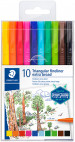 Staedtler Triplus Fineliner Pens - Extra Broad - Assorted Colours (Pack of 10)