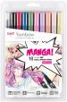 Tombow ABT Dual Brush Pens - Manga Shojo Colours (Pack of 10)
