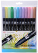 Tombow ABT Dual Brush Pens - Pastel Colours (Pack of 12)