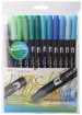 Tombow ABT Dual Brush Pens - Ocean Colours (Pack of 12)