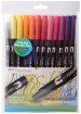 Tombow ABT Dual Brush Pens - Sunset Colours (Pack of 12)