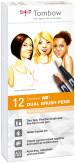 Tombow ABT Dual Brush Pens - Portrait Colours (Pack of 12)
