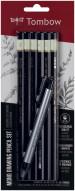 Tombow Mono 100 Graphite Pencils - Assorted Grades (Set of 6)