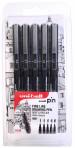Uni-Ball Pin Drawing Pens - 0.6mm, 0.7mm, 0.9mm, 1.0mm, 1.2mm