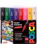 Uni-Ball PC-1M Posca Extra-Fine Bullet Tip Marker Pens - Starter Colours (Pack of 8)