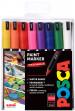 Uni-Ball PC-1MR Posca Ultra Fine Bullet Tip Marker Pens - Assorted Colours (Pack of 16)