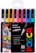 Uni-Ball PC-3M Posca Fine Bullet Tip Marker Pens - Pastel Colours (Pack of 8)