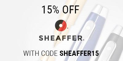 15% Off Sheaffer