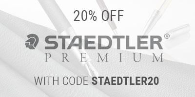 20% off Staedtler Premium