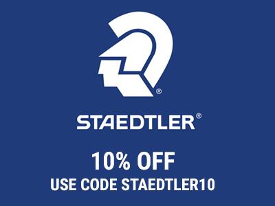 10% off Staedtler