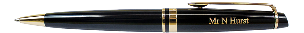 Waterman Expert Engraved Ballpoint Pen