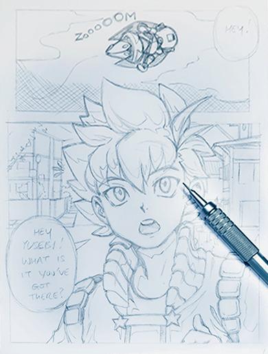 Manga Demonstration 5