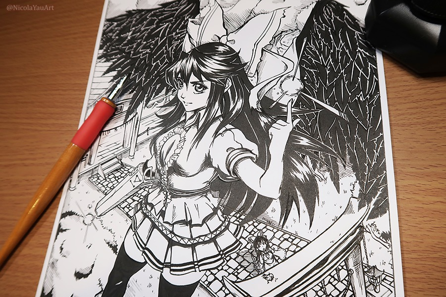 Manga Demonstration 6