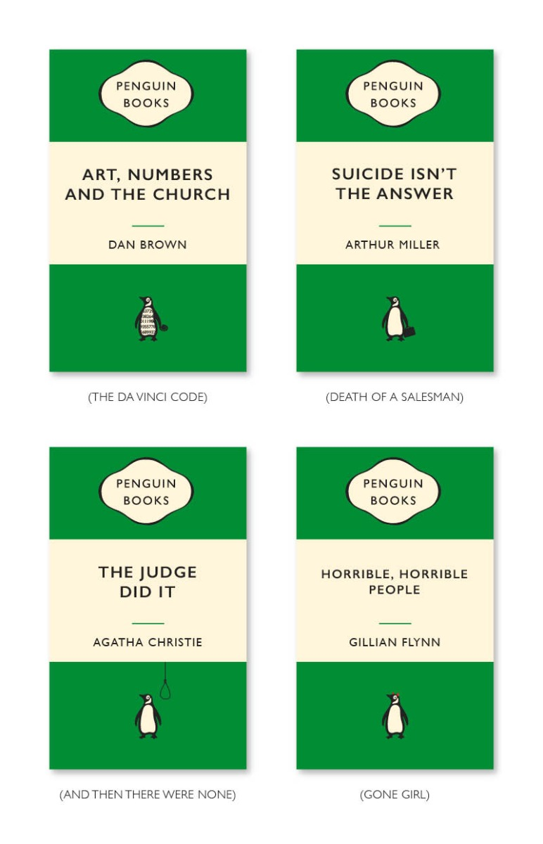Funny Book Titles - Crime
